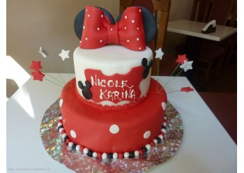 Tort funda Minnie