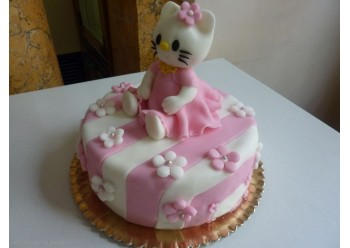 Tort cu Hello Kitty