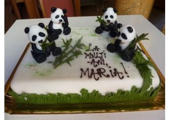 Tort cu ursi panda