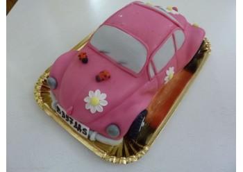 Tort masinuta Barbie