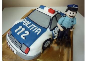 Tort masina de politie