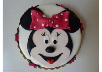 Tort cu cap de Minnie