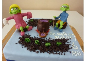 Tort cu zombi