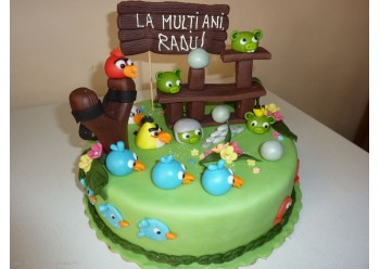 Tort cu Angry Birds