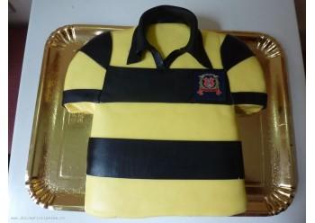 Tort tricou cu dungi
