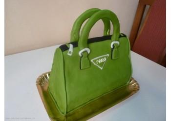 Tort poseta verde