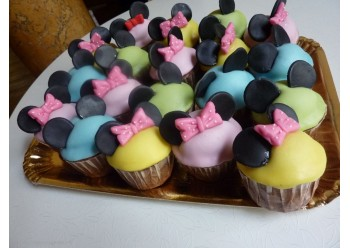 Cup cakes Minnie