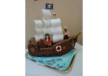 Tort Vapor de pirat