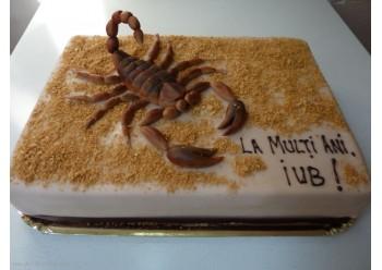 Tort cu scorpion