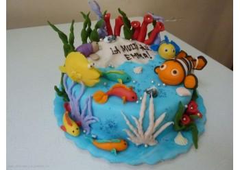 Tort acvariu
