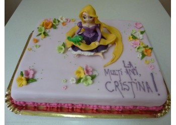 Tort cu Rapunzel
