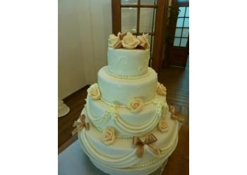 Tort nunta retro