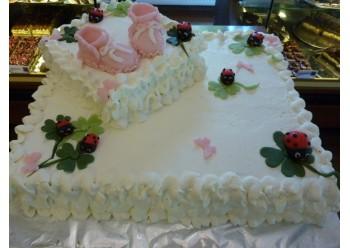 Tort botez cu buburuze