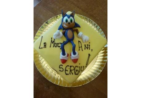 Tort motanul Soniq