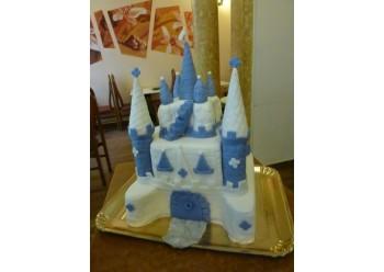 Tort castel alb