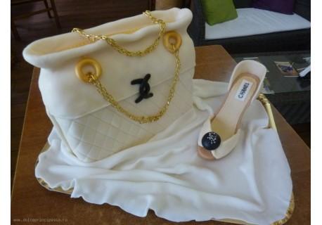 Tort poseta Chanel