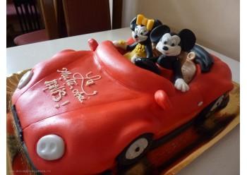 Tort masina decapotabila